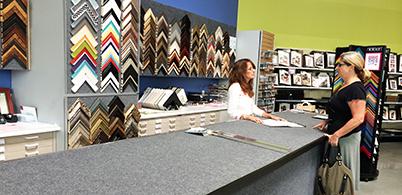 art frames online and custom frames redwood city university art